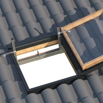 dispositivi anticaduta temporanei di Tipo B per tetti